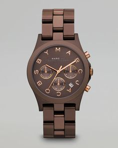 Henry Watch, Brown by MARC by Marc Jacobs
