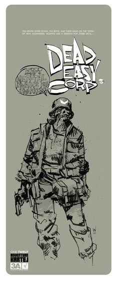 threeA - AKLUB Dead Easy Corp ZOMB MD CRACK ZOMB SOLDIERS set | 玩具人Toy People News