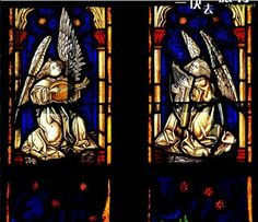 Chatres Cathedral angels