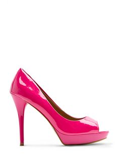 Hot pink!!!! (would love them even more if they were closed toed)