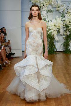 Best of Bridal Fashion Week: Monique Lhuillier Wedding Dress Collection 2018