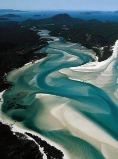 Whitehaven beach ,Australia