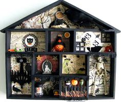 Cute halloween Shadow Box!
