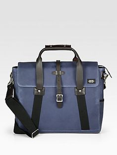 Check out this Jack Spade Swiss Brief Bag from Saks Fifth Avenue for your next city adventure | Visit The Gift of Traveling board for your chance to win a Visa gift card