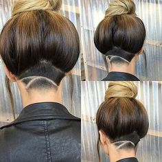 Simple Undercut Design for Women