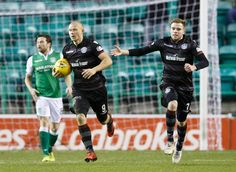 Hibernian 2 Motherwell 1 in Jan 2018 at Easter Road. Curtis Main got a goal back for Motherwell on 78 minutes #ScotPrem