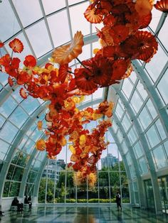f13a4965cb56 Blooming Beautiful - An art installation comprised of bright flowers