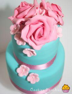 Cookies Paradise: Mi primer cumple blog! Y mi super tarta para celebrarlo y sorteo!!!!