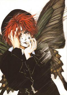 "Mad Hatter by Kaori Yuki, ""Angel Sanctuary"""