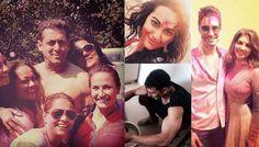 Salman Khan, Sonakshi Sinha, Akshay Kumar, Sunny Leone celebrate Holi Holi #Holi