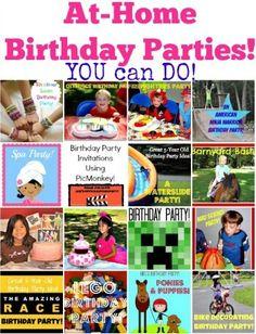 Great 9 Year Old Boy Birthday Party Idea: Backyard Campout Birthday Party Sleepover! - MomOf6