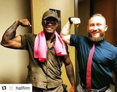 #Repost @hallfirm #UPS or #NFL? Celebrating a completed delivery to #HallFirm.  #whatcanbrowndoforyou #areyoureadyforsomefootball