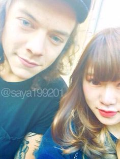 Harry with a fan today 27/2/15