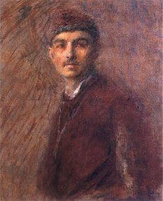 Wladyslaw Podkowinski - Self-portrait 1887