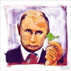 poetin en de Krim