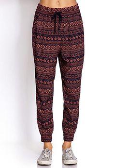 Globetrotter Harem Pants from Forever 21. MUST have!