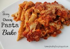 You searched for skinny cheesy pasta bake - Yummy Healthy Easy Side Dish Recipes, Pasta Recipes, Dinner Recipes, Yummy Recipes, Holiday Recipes, Healthy Eating Recipes, Cooking Recipes, Healthy Pastas, Cooking