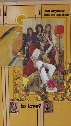 Queen Aesthetic, Aesthetic Vintage, Queen Banda, Queens Wallpaper, Band Wallpapers, Up To The Sky, Queen Photos, Somebody To Love, Queen Freddie Mercury