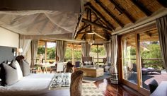 Experience a luxury safari in South Africa at Ulusaba, Sir Richard Branson's Private Safari Game Reserve. Enjoy twice daily game drives and unforgettable views. Safari Game, Safari Bedroom, Private Safari, Private Games, Kruger National Park, Game Reserve, Beautiful Hotels, Beautiful Bedrooms, Beautiful Places