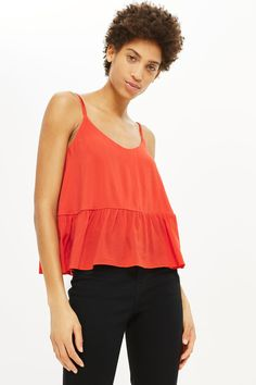 Relaxed Peplum Camisole Top - New In Fashion - New In - Topshop Europe