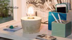 Fabriquez vous-même une petite lampe d'appoint qui en impose sans prendre de place sur un coin de table.