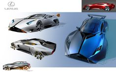 Car Design Sketches on Behance
