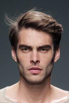 men's haircut: the classic part