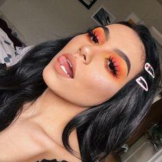 Gorgeous Makeup: Tips and Tricks With Eye Makeup and Eyeshadow – Makeup Design Ideas Glam Makeup, Baddie Makeup, Glitter Makeup, Skin Makeup, Makeup Inspo, Eyeshadow Makeup, Makeup Inspiration, Eyeliner, Eyeshadows