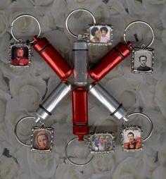 FS,Cylinder Urn,Key Chain Urn,Red,Silver,Cremation Urn,Keepsake Urn #SmallCremationUrns
