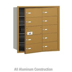 Salsbury Industries 4B+ Commercial Horizontal Mailbox 10 B Door Front Loading Private Access