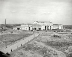 Not really a souvenir, but a really early (1908) image of one of my favorite DC buildings, Union Station.