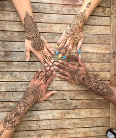 "773 Likes, 9 Comments - Henna Mystic⭐️ (@melissaaddams) on Instagram: "" thank you for being an awesome group of ladies! My heart is full #mehndi #hennatattoo #henna…"""
