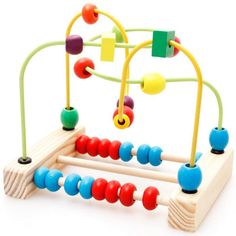 Bead Roller Coaster Toy, Small