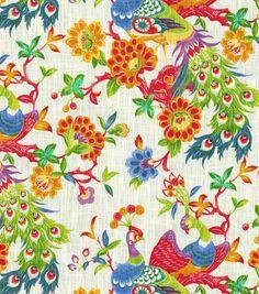 Home Decor  Print Fabric- Richloom Studio  Lark Fiesta