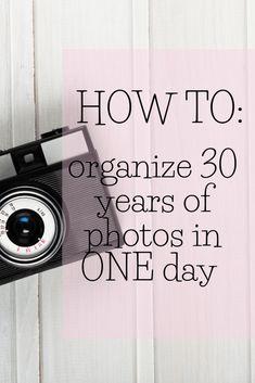 Household Organization, Storage Organization, Foto Fun, Old Family Photos, Photo Transfer, Photo Storage, Photo Projects, Diy Projects, Photo Tips