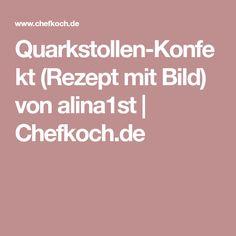 Quarkstollen-Konfekt (Rezept mit Bild) von alina1st   Chefkoch.de