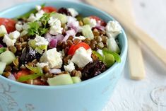 Fruit Salad, Cobb Salad, Lentil Salad, Lentils, Acai Bowl, Entrees, Cheese, Vegan, Breakfast