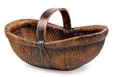One Kings Lane - Woven Wonders - Sewn Willow Basket