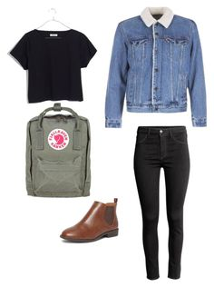 """""""Chilly"""" by katiebug1031 on Polyvore featuring Madewell, H&M, Levi's, Dorothy Perkins and Fjällräven"""