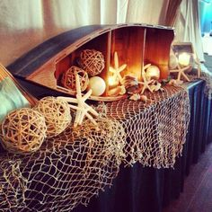 Nautical Wedding Reception Ideas | Nautical Reception Decor // by The Main Event by Emily Cindy ...
