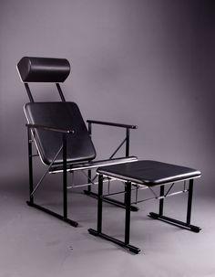 Yrjö Kukkapuro model Designed in the Avarte, Finland. Teak Furniture, Furniture Design, Outdoor Furniture, Single Chair, Outdoor Chairs, Outdoor Decor, Cool Chairs, Drafting Desk, Scandinavian Design