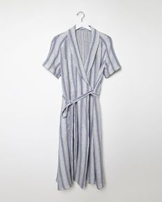 J.W. Anderson || Linen Wrap Dress