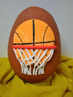 Basketball chocolate easter egg