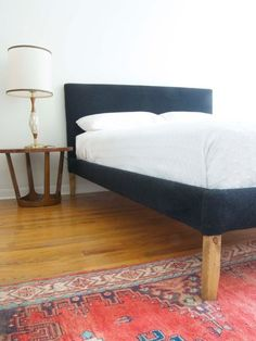 Easy, Easier, Easiest: 6 Dramatic Bed Frame DIY Projects & IKEA Hacks   Apartment Therapy