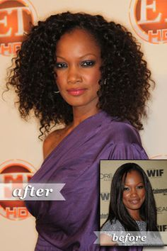Garcelle Beauvais: Natural texture Ethnic Hairstyles, Easy Hairstyles, Curly Hair Styles, Natural Hair Styles, Natural Beauty, Au Natural, Natural Life, New Year Hairstyle, Hairstyle Ideas
