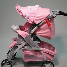 A blinged out stroller anyone?!