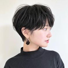 The Flapper Reborn - 40 Сharming Short Fringe Hairstyles for Any Taste and Occasion - The Trending Hairstyle Short Hair Tomboy, Asian Short Hair, Girl Short Hair, Short Hair Cuts, Japanese Short Hair, Tomboy Hairstyles, Girl Haircuts, Fringe Hairstyles, Pretty Hairstyles