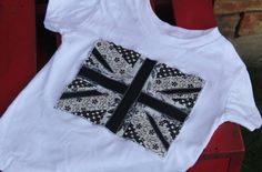 Union Jack Toddler Tee by mylittlemookie on Etsy, $15.00