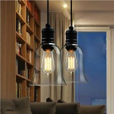 Kronleuchter Glas Landhaus Wohnzimmerlampe Halogen Deckenleuchte Modern Design
