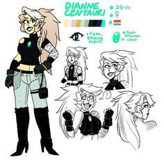 Dianne Centauri by maddzeee on DeviantArt